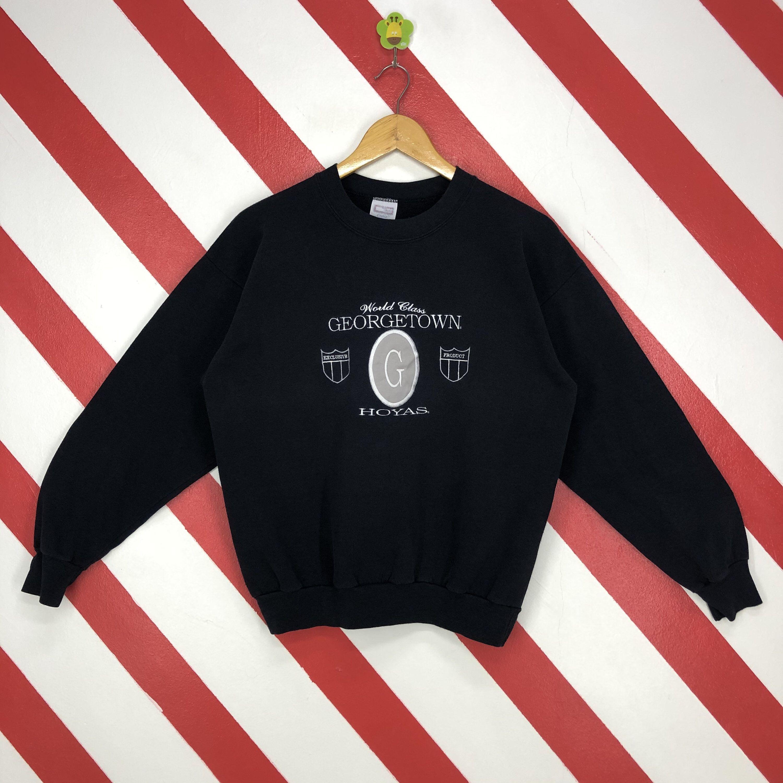Vintage 90s Georgetown Hoyas Sweatshirt Georgetown Hoyas Etsy Sweatshirts Calvin Klein Sweatshirts 90s Sportswear [ 3000 x 3000 Pixel ]