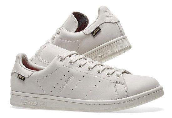 reputable site 70c40 96ba4 All-weather footwear: Adidas Stan Smith GTX trainers ...