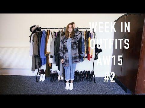 Week in Outfits AW15 #2 | sunbeamsjess - YouTube