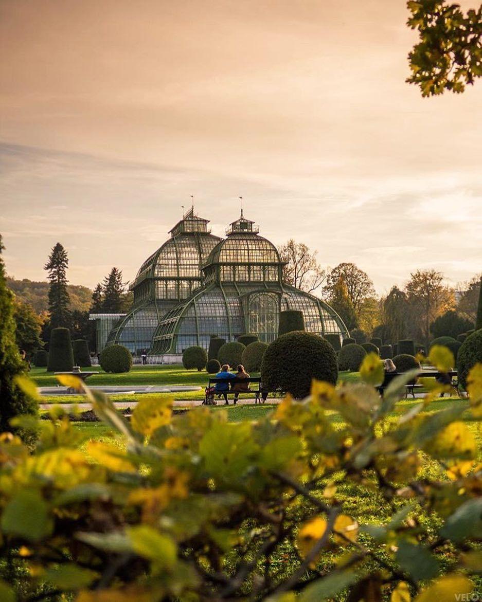 Palmenhaus Schönbrunn Italien reisen