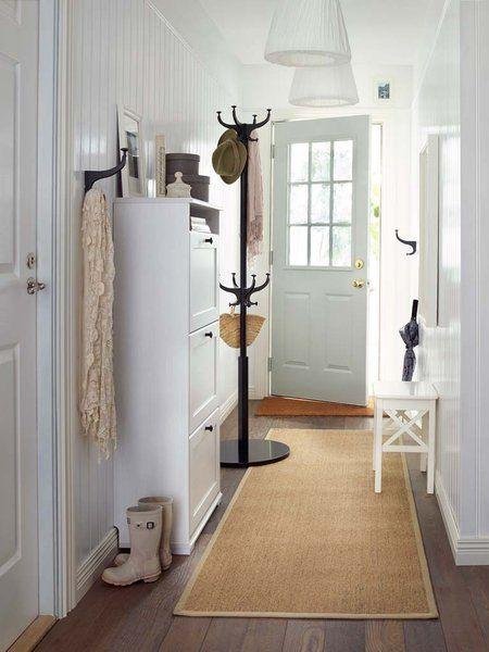 Aire nuevo para el recibidor recibidor ikea y espacios - Entraditas pequenas ikea ...