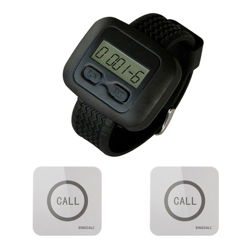 Singcall wireless service calling pager system 1 watch