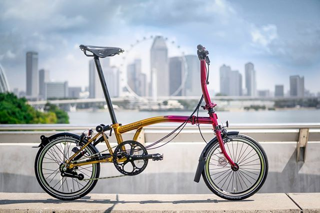 Lion City Special Edition Only In Singapore Brompton Bikegangstore Bikegang Bromptonlife Bromptonmods Bikegangtw Bikegangsg Bro Brompton Bicycle Bike