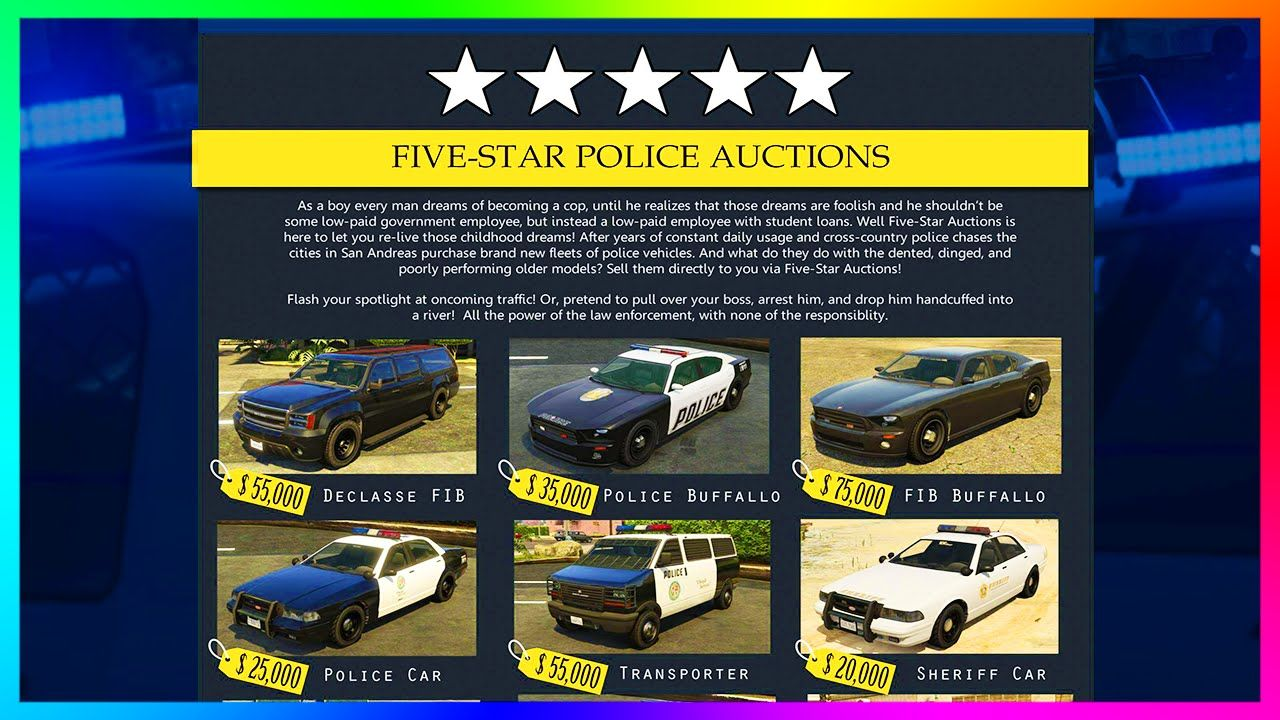 Amazing GTA 5 Cars & Police Website Concepts - Sports Police Cars, New  Vehicle Class & MORE! (GTA 5) | Police cars, Gta 5, Gta