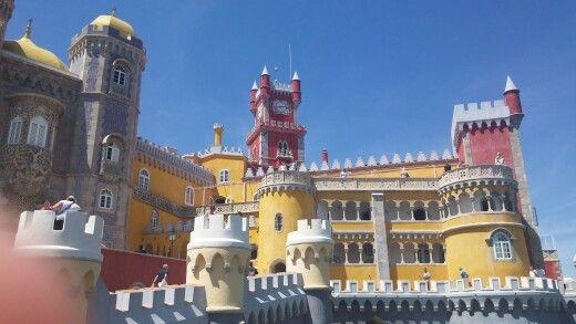 Like a disneyland castela - Sintra, Portugal