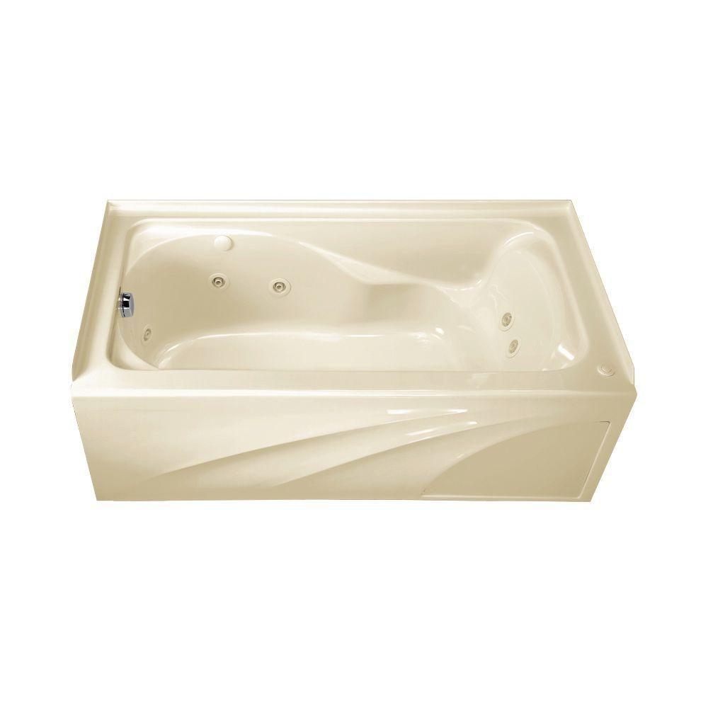 American Standard Cadet 5 ft. Whirlpool Tub with | Whirlpool Bathtub ...