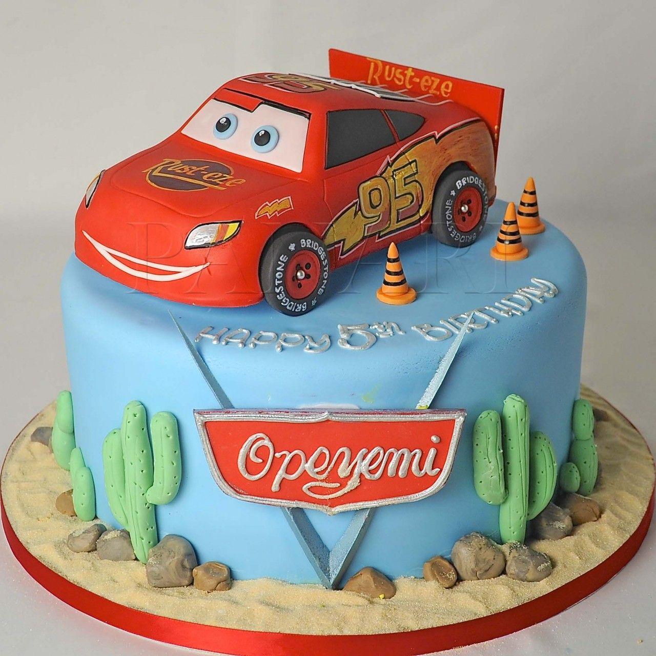 LIGHTENING MCQUEEN CAKE CR2429 cakepinscom Let them eat cake