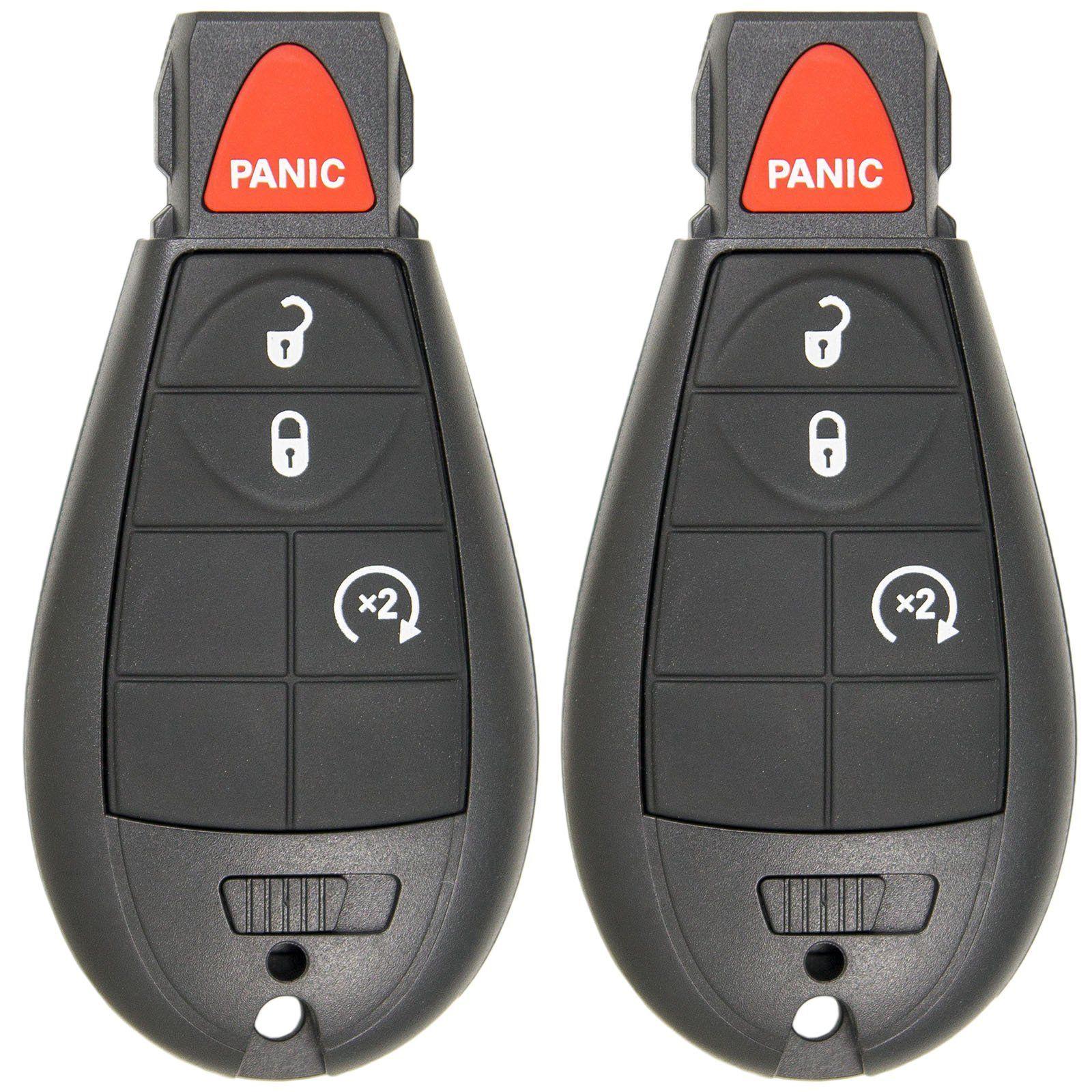 Keyless2go Keyless Entry Remote Car Key For Ram Vehicles That Use