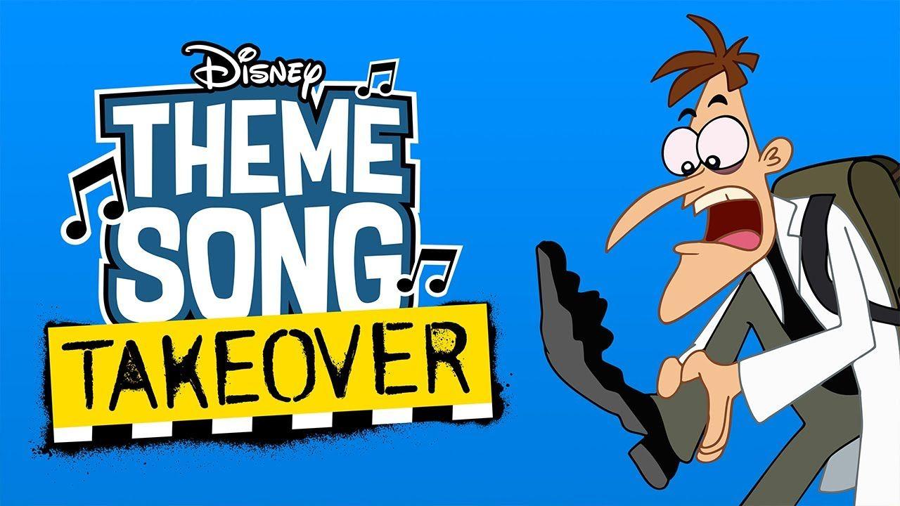 Dr Doofenshmirtz Theme Song Takeover Milo Murphy S Law Disney Channel Theme Song Milo Murphys Law Disney Channel