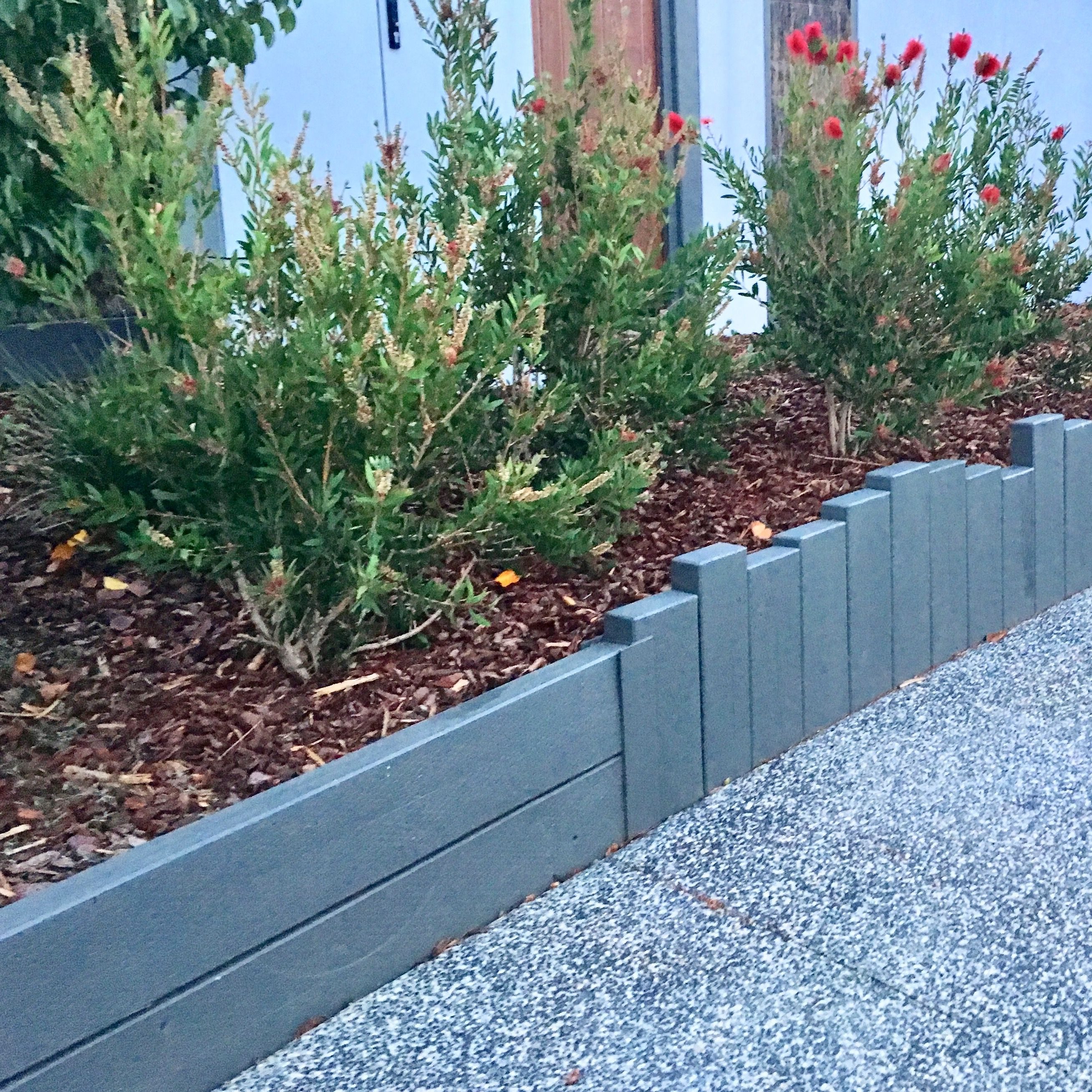 Garden Edging Made From Sleepers