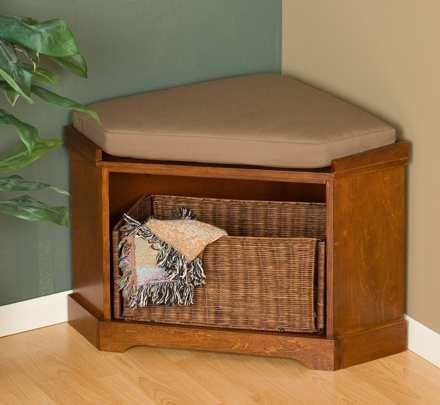 mini mudroom corner storage bench we all need a mudroom but we