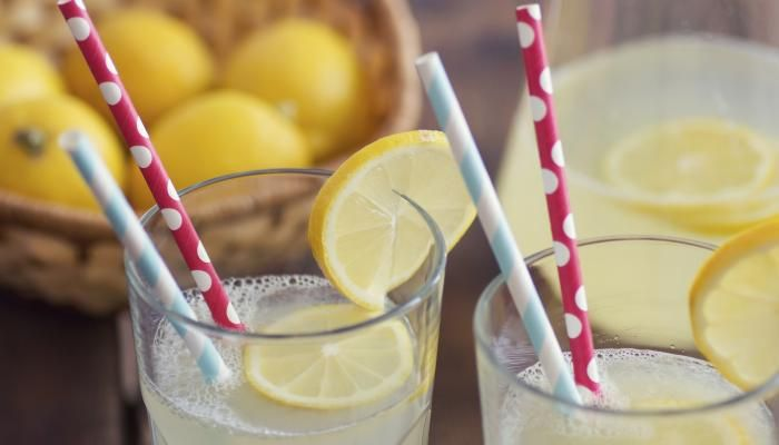 We serve this refreshing drink at summer festivals at The Herbfarm.