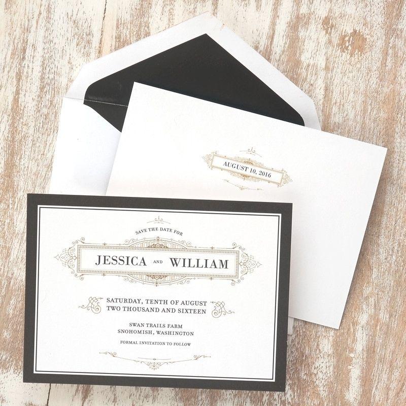 Elegant American Stationery Wedding Invitations   Elegant and Weddings