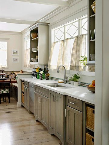 Best See Why Gray Is Our New Favorite Kitchen Color Stained 400 x 300