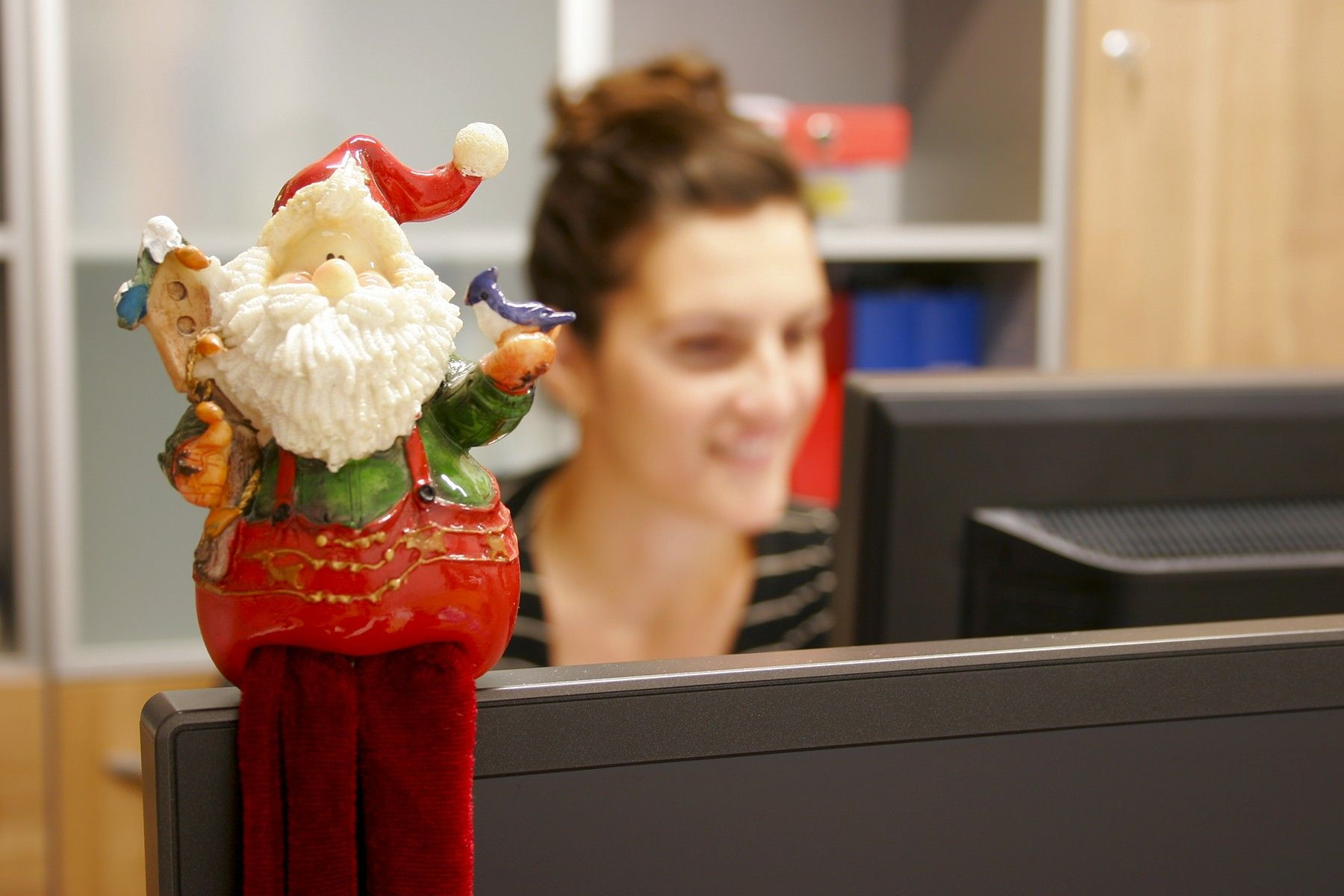 Spread some holiday cheer around your workplace this winter.