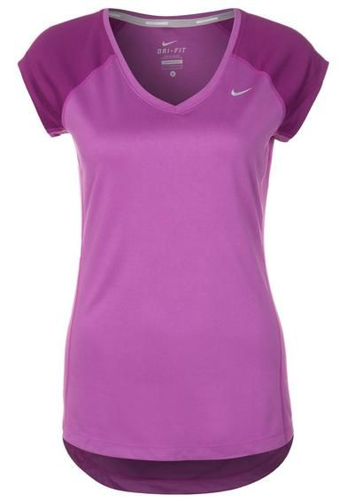 colgar Avispón tanque  purple-nike-miler-sports-shirt-purple.jpg (392×566) | Sports shirts, Purple  nikes, Fashion