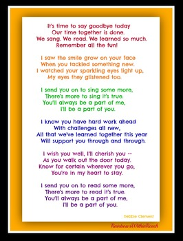graphic about Were Moving Up to Kindergarten Printable Lyrics known as Kindergarten Commencement Track for Slideshow Soundtrack