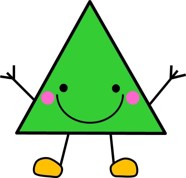 Triangulo Cara Color Figuras Geometricas Para Preescolar Figuras Geometricas Para Ninos Fichas