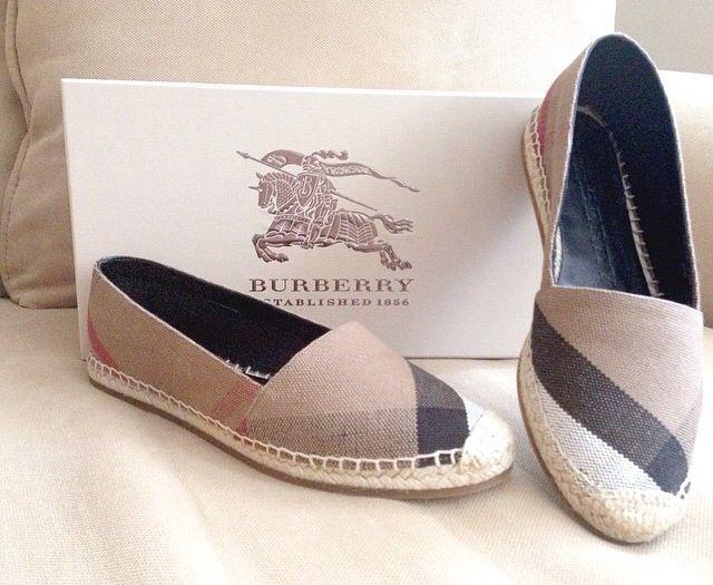 Burberry handbags, Burberry espadrilles