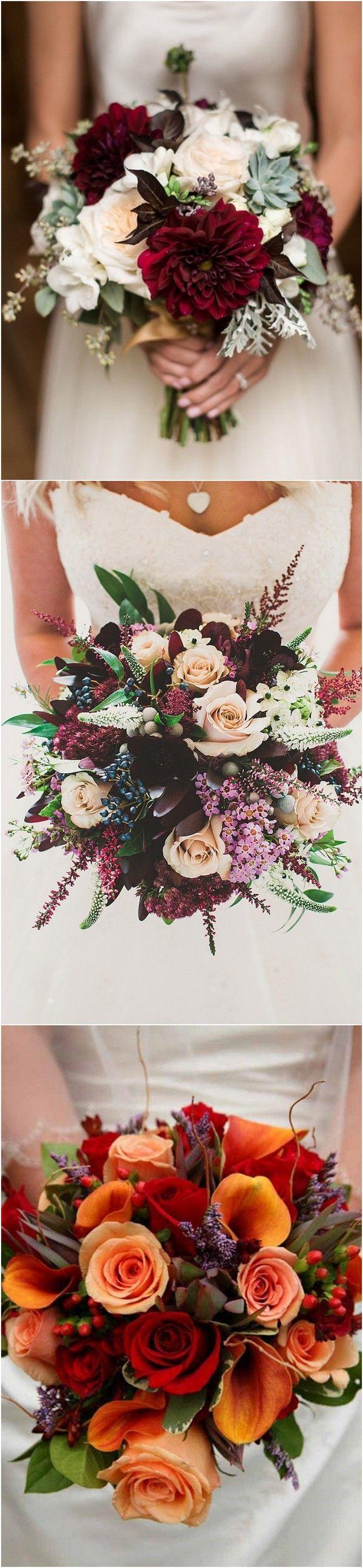 fall wedding bouquet ideas #weddingideas #weddingdecor #fallwedding #autumnwedding
