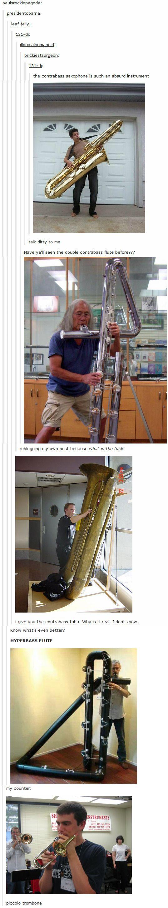 I Want A Piccolo Trombone Music Humor Band Jokes Music Jokes