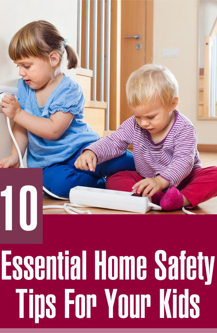 10 General Saftey Rules At Home For Kids Home Safety Tips Home Safety Safety Rules For Kids