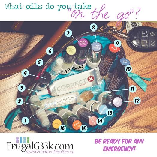 Essential Oils on the Go!