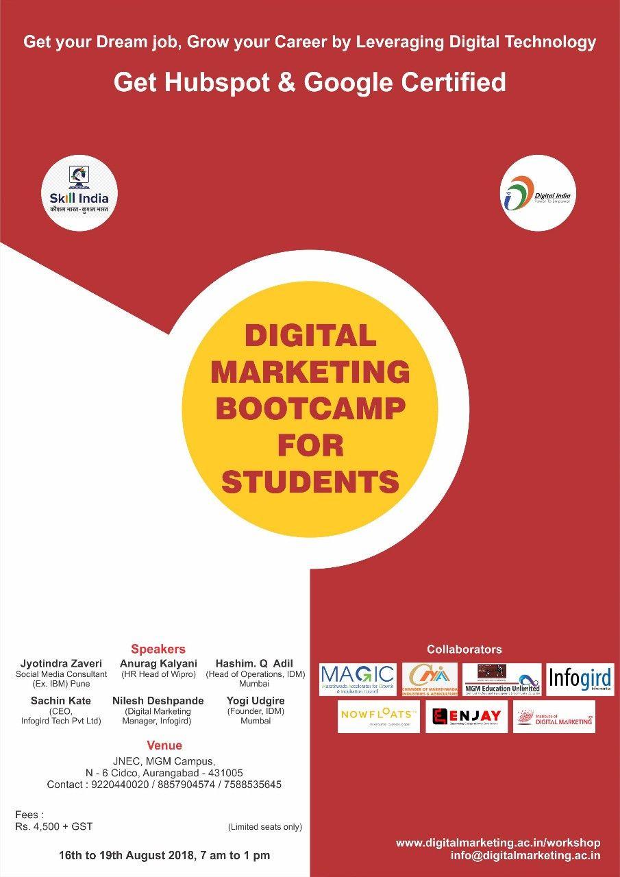 Digitalmarketing for Students in 2020 Marketing