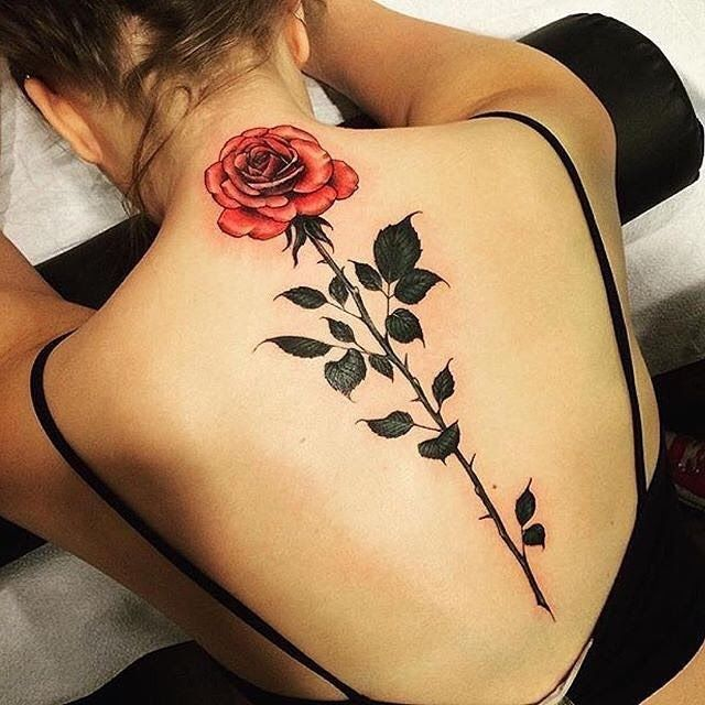 8a525488f0200 70 Latest Spine Tattoo Ideas for a Sexy Back Look | Celestial Tattoo ...