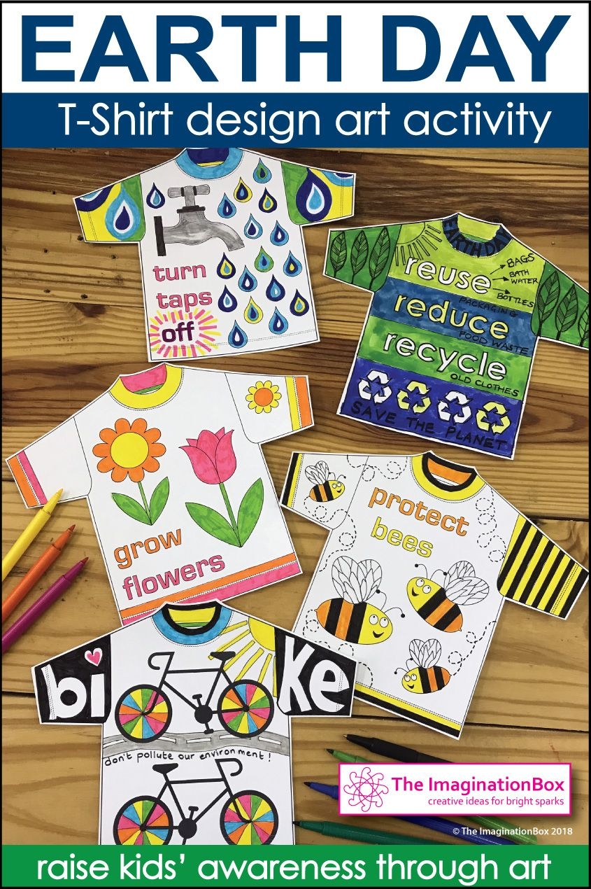 Earth Day Coloring Pages T Shirt Art Activity Earth Day Earth