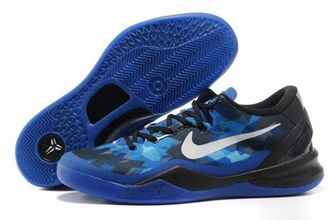 best cheap 3b613 3e30d Cheap For Sale Nike Zoom Kobe VIII 8 Mens Shoes New Blue Black
