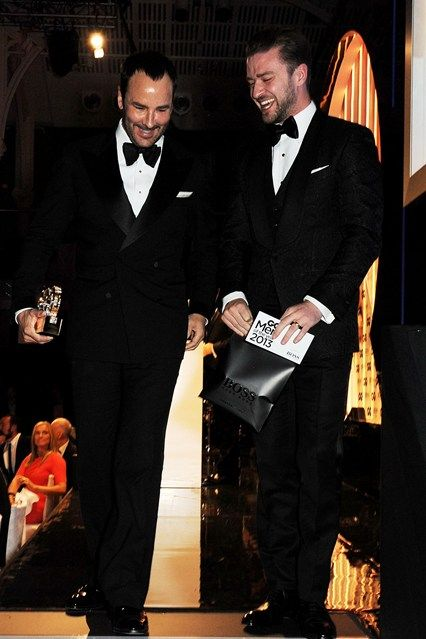 Tom Ford and Justin Timberlake.