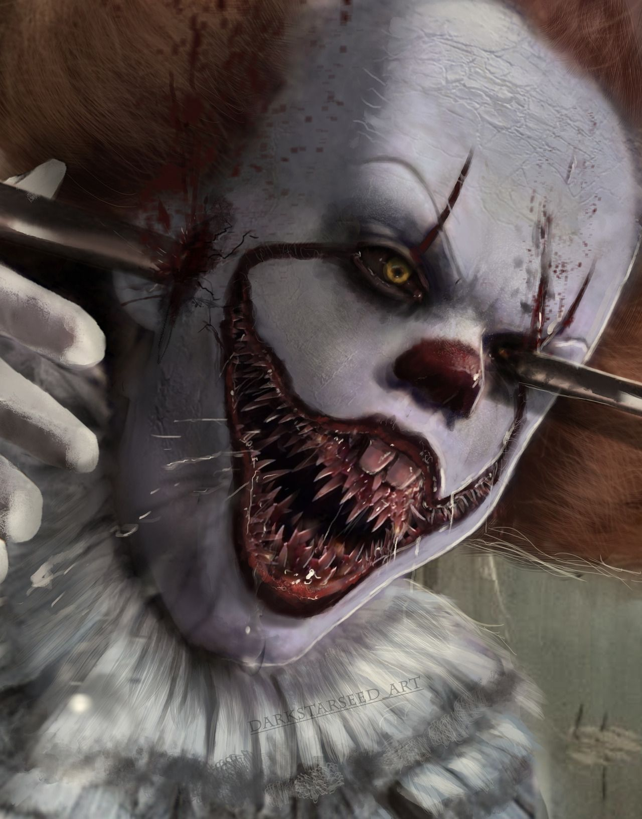 pennywise is not impressed d more ask pennywise the clown ask