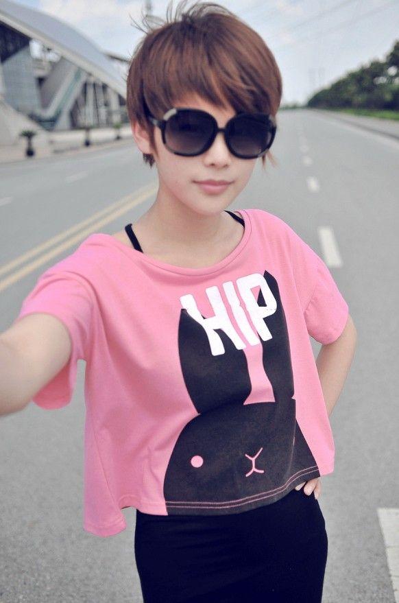Pixie Cut For Asian Girls Hair Color Pinterest Short Hair