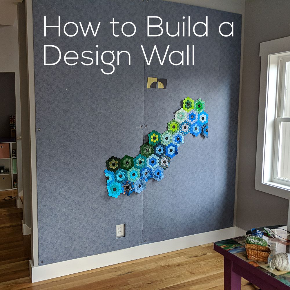 How To Build A Design Wall Flannel Board Bulletin Board Etc Shiny Happy World Quilt Design Wall Sewing Room Design Quilting Room