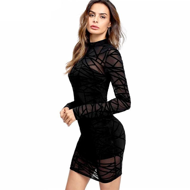 Damen Sommer Freizeit Kurzärmelig Bodycon-Kleid Clubwear Party Stift Langes