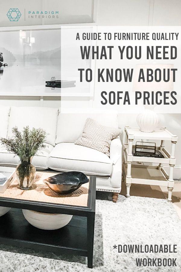 Sofas How Much Should I Spend Paradigm Interiors Sofa Price Interior Design Blog Home Decor