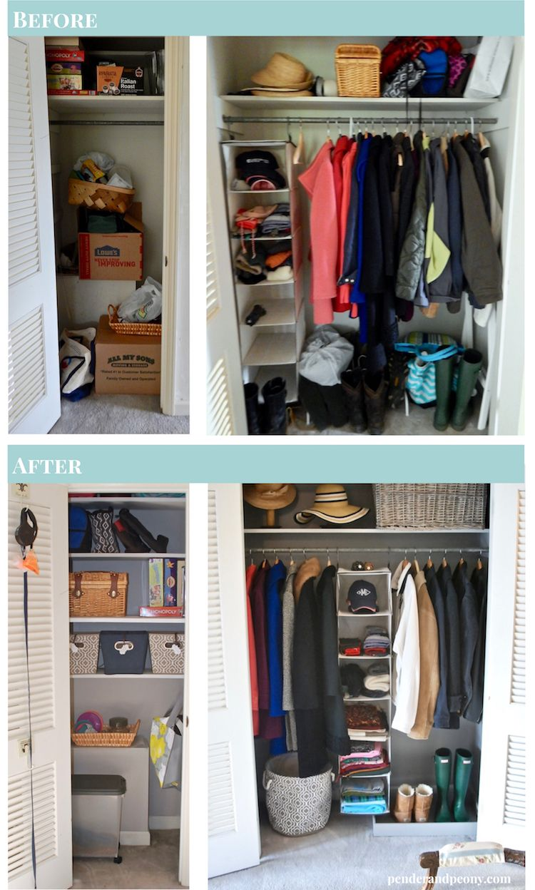 closet custom tips space organization helpful blog clutter front for entryway reducing