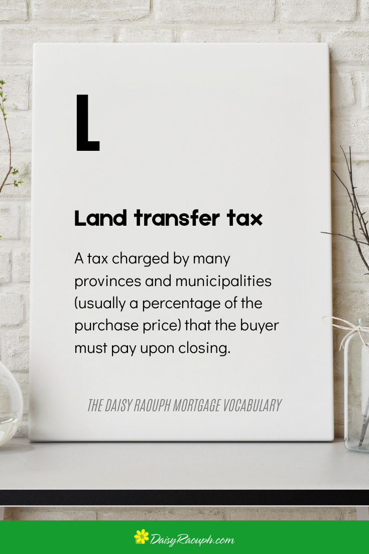 Land Transfer Tax Home Quotes And Sayings Mortgage Payoff Refinance Mortgage