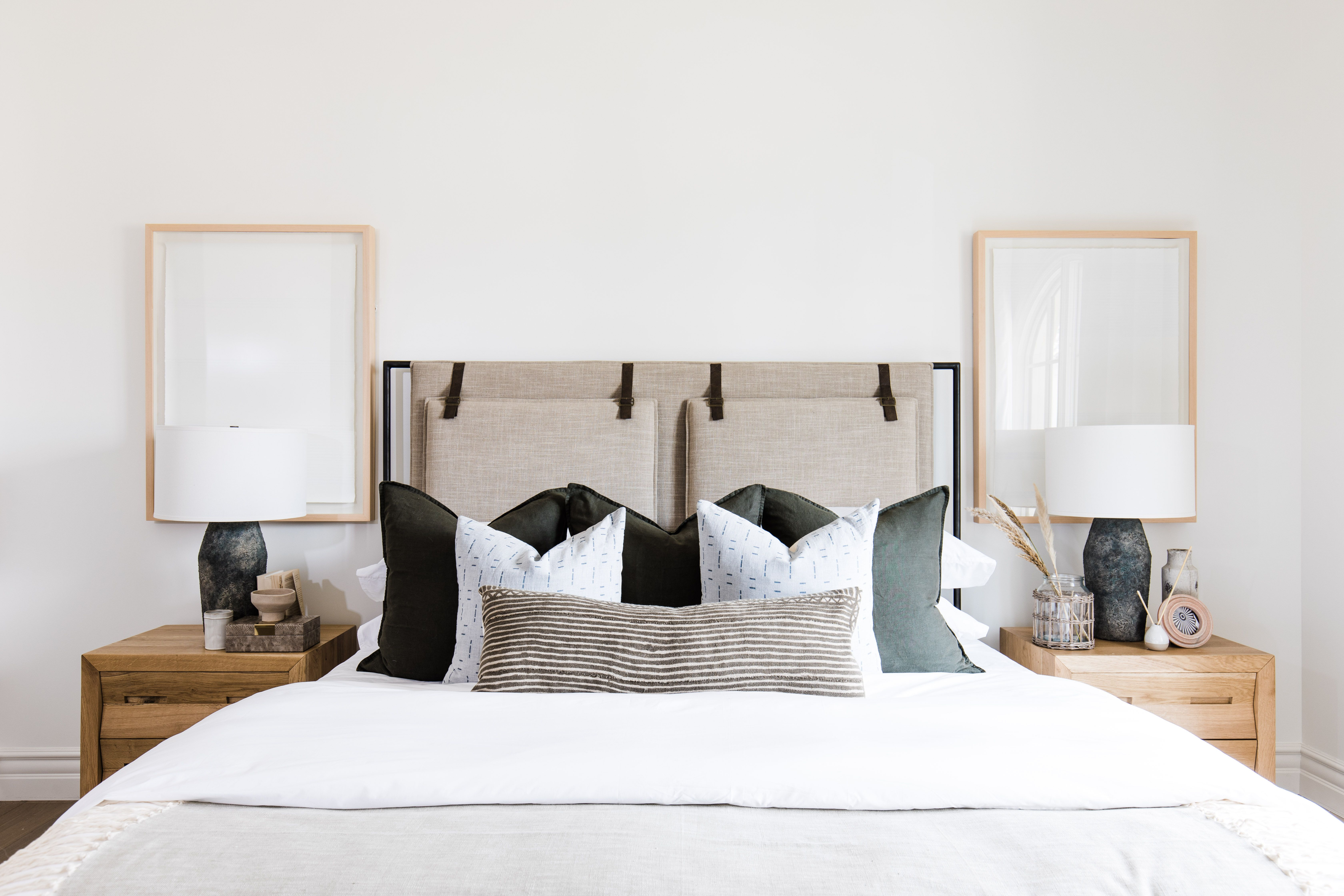 thelifestyledco partyhouseproj santa barbara inspired modern home in 2020 home projects bedroom inspirations guest bedrooms