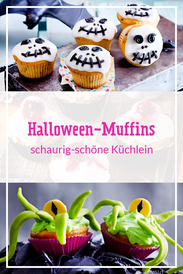 halloweenmuffins  süße rezepte zum gruseln  lecker