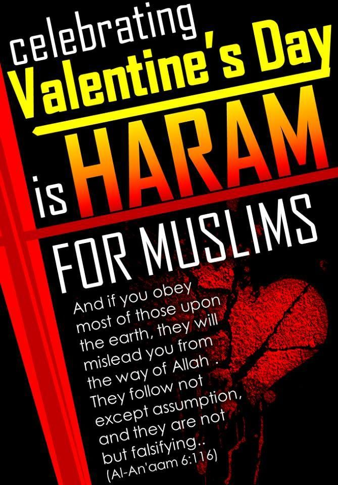 b7a8763323d celebrating valentine s day is haram