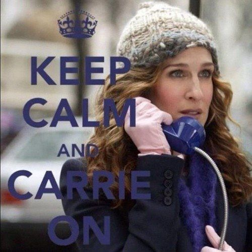 carrie on