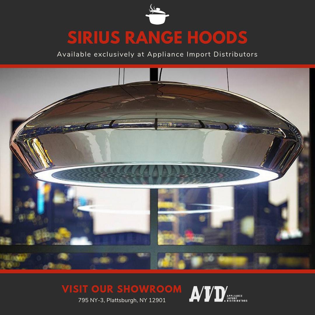 Sirius Rangehoods Are Sleek Stylish Way To Add Functionality To