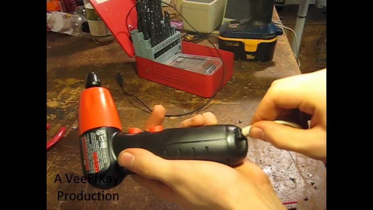 How to convert a battery powered device to wall power for
