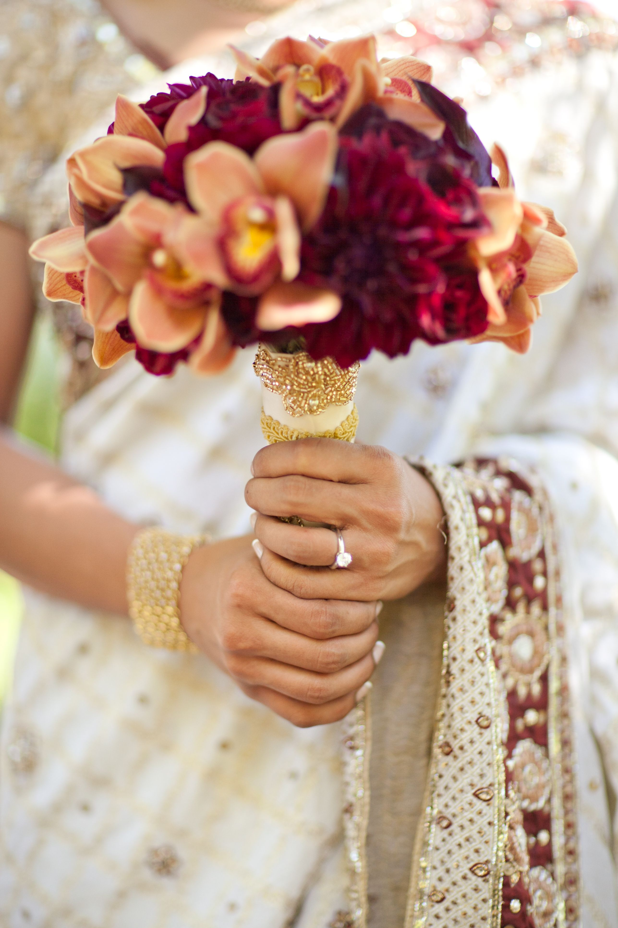 Bold Red Gold And Ivory Sri Lankan Wedding At The Church Estate