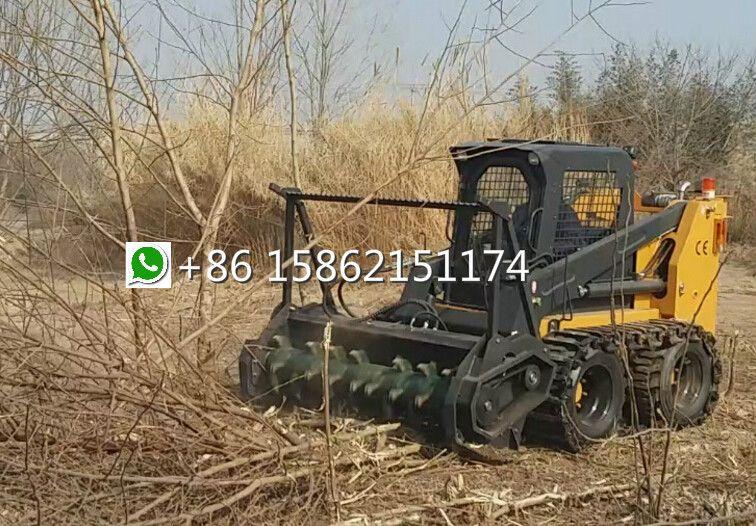 skid loader forestry mulcher--skid loader attachments,loader