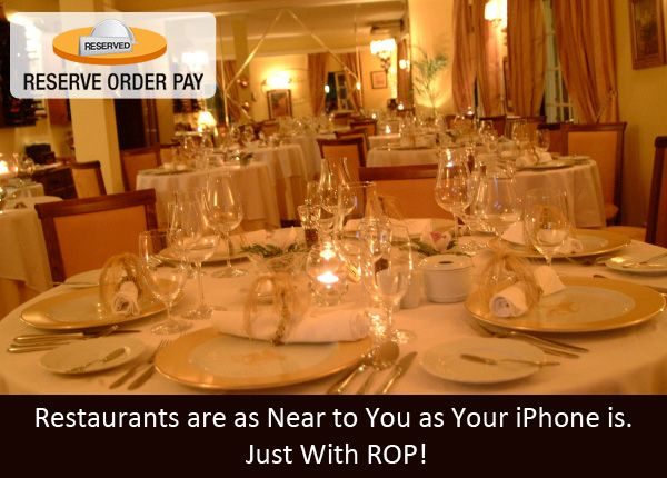 Reserve Tables With Restaurant Table Booking App Make Your - Restaurant table management app