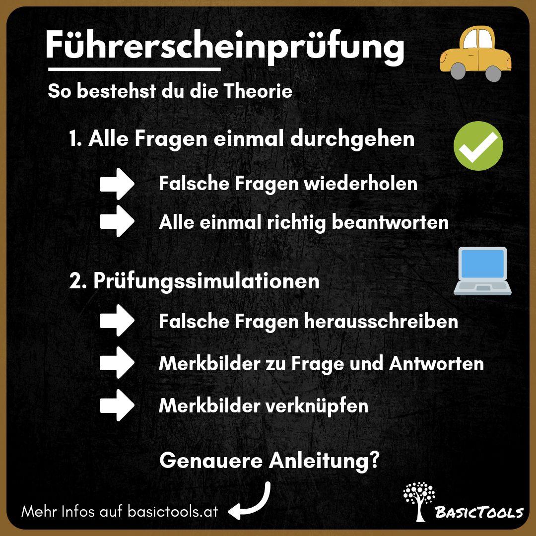 Falsche Fahrschule Ebenholz