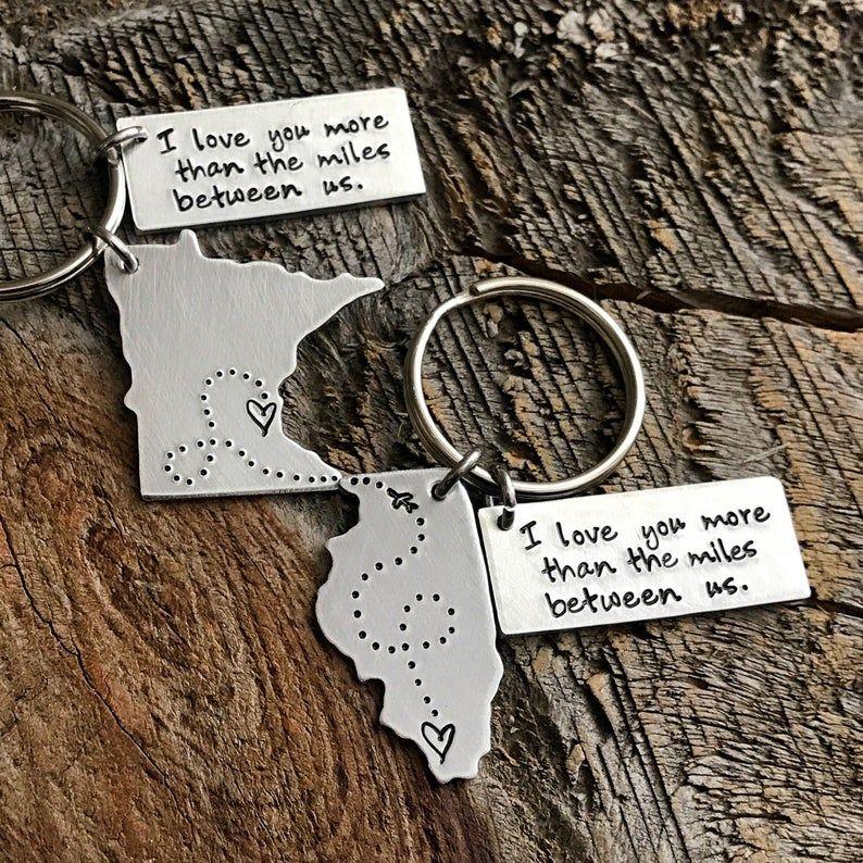 Long Distance Relationship Gift Boyfriend Gift Girlfriend